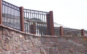Wrought Iron Picket Style Pool Railings