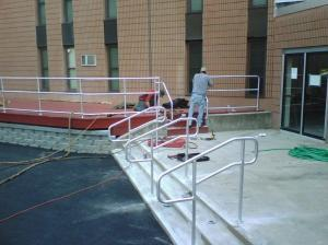 Ft. Drum Railing Projects